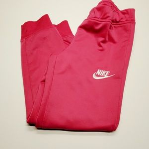 Nike Brand Little Girl's 4/xs Pink  Sweatpants